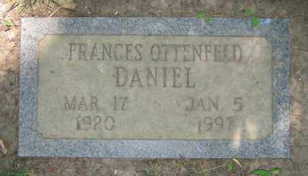 DANIEL, FRANCES - Clark County, Ohio | FRANCES DANIEL - Ohio Gravestone Photos