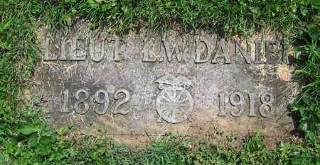 DANIEL, L. W.  LIEUT - Clark County, Ohio | L. W.  LIEUT DANIEL - Ohio Gravestone Photos