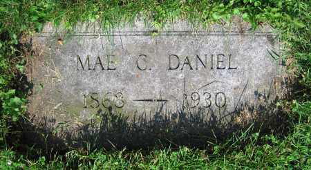 DANIEL, MAE C. - Clark County, Ohio | MAE C. DANIEL - Ohio Gravestone Photos