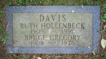 HOLLENBECK DAVIS, RUTH - Clark County, Ohio | RUTH HOLLENBECK DAVIS - Ohio Gravestone Photos