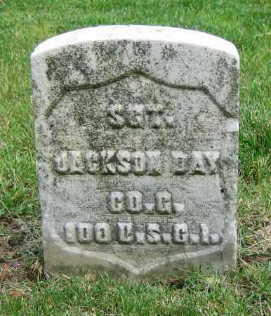 DAY, JACKSON - Clark County, Ohio | JACKSON DAY - Ohio Gravestone Photos