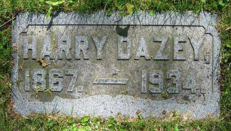 DAZEY, HARRY - Clark County, Ohio | HARRY DAZEY - Ohio Gravestone Photos