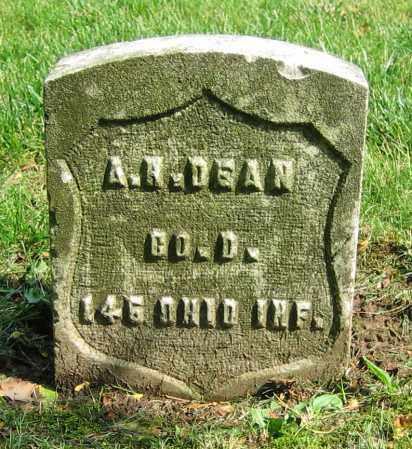 DEAN, A.H. - Clark County, Ohio | A.H. DEAN - Ohio Gravestone Photos