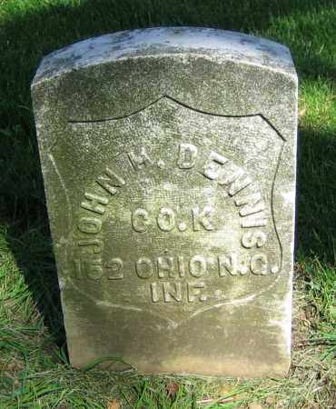 DENNIS, JOHN H. - Clark County, Ohio | JOHN H. DENNIS - Ohio Gravestone Photos