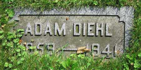 DIEHL, ADAM - Clark County, Ohio | ADAM DIEHL - Ohio Gravestone Photos