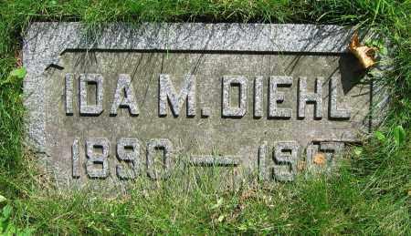 DIEHL, IDA M. - Clark County, Ohio | IDA M. DIEHL - Ohio Gravestone Photos
