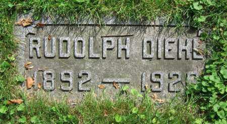 DIEHL, RUDOLPH - Clark County, Ohio | RUDOLPH DIEHL - Ohio Gravestone Photos
