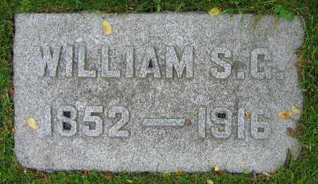 DILLAHUNT, WILLIAM S.G. - Clark County, Ohio | WILLIAM S.G. DILLAHUNT - Ohio Gravestone Photos