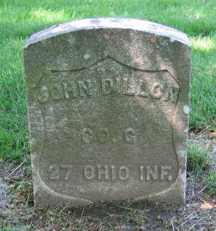 DILLON, JOHN - Clark County, Ohio | JOHN DILLON - Ohio Gravestone Photos