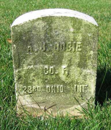 DOBIE, A.J. - Clark County, Ohio | A.J. DOBIE - Ohio Gravestone Photos