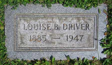 DRIVER, LOUISE B. - Clark County, Ohio | LOUISE B. DRIVER - Ohio Gravestone Photos