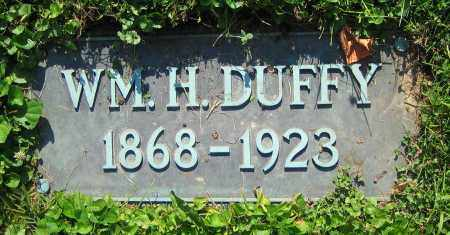 DUFFY, WM. H. - Clark County, Ohio | WM. H. DUFFY - Ohio Gravestone Photos
