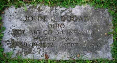 DUGAN, JOHN G. - Clark County, Ohio | JOHN G. DUGAN - Ohio Gravestone Photos