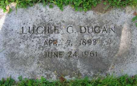 DUGAN, LUCILE G. - Clark County, Ohio | LUCILE G. DUGAN - Ohio Gravestone Photos