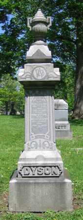 DYSON, WM. - Clark County, Ohio | WM. DYSON - Ohio Gravestone Photos