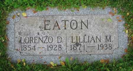EATON, LILLIAN M. - Clark County, Ohio | LILLIAN M. EATON - Ohio Gravestone Photos