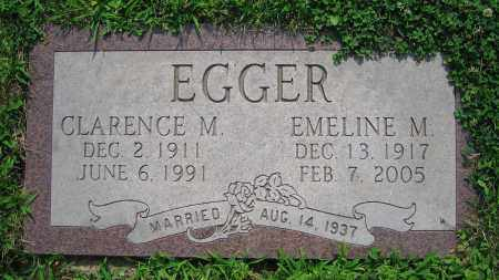 EGGER, EMELINE M. - Clark County, Ohio | EMELINE M. EGGER - Ohio Gravestone Photos