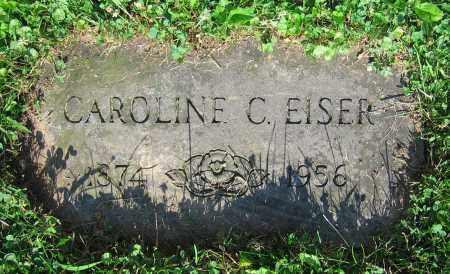 EISER, CAROLINE C. - Clark County, Ohio | CAROLINE C. EISER - Ohio Gravestone Photos