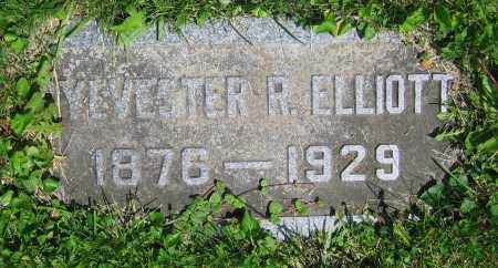 ELLIOTT, SYLVESTER R. - Clark County, Ohio | SYLVESTER R. ELLIOTT - Ohio Gravestone Photos