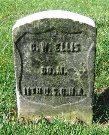 ELLIS, G.W. - Clark County, Ohio | G.W. ELLIS - Ohio Gravestone Photos