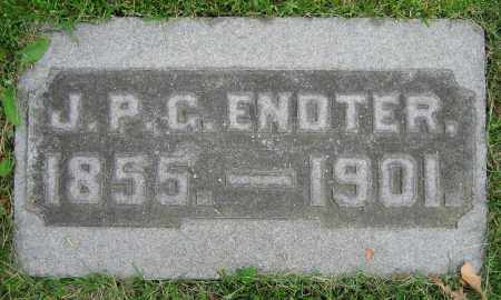 ENDTER, J.P.C. - Clark County, Ohio | J.P.C. ENDTER - Ohio Gravestone Photos
