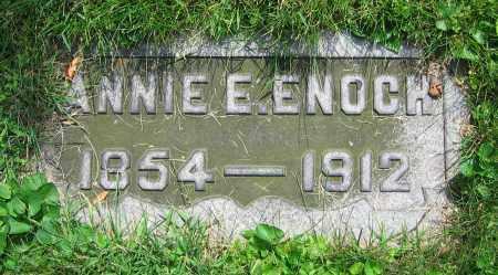 ENOCH, ANNIE E. - Clark County, Ohio | ANNIE E. ENOCH - Ohio Gravestone Photos
