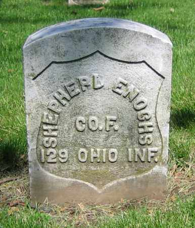 ENOCHS, SHEPHERD - Clark County, Ohio | SHEPHERD ENOCHS - Ohio Gravestone Photos