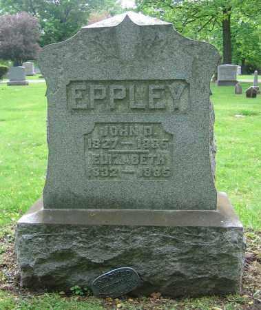 EPPLEY, ELIZABETH - Clark County, Ohio | ELIZABETH EPPLEY - Ohio Gravestone Photos