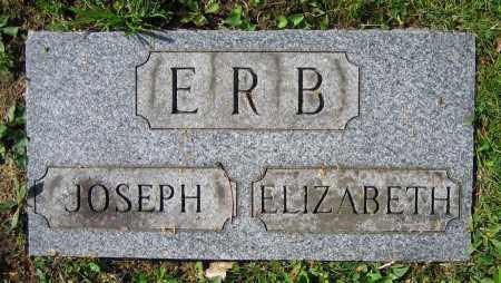 ERB, ELIZABETH - Clark County, Ohio | ELIZABETH ERB - Ohio Gravestone Photos