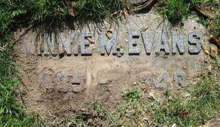 EVANS, MINNIE M. - Clark County, Ohio | MINNIE M. EVANS - Ohio Gravestone Photos