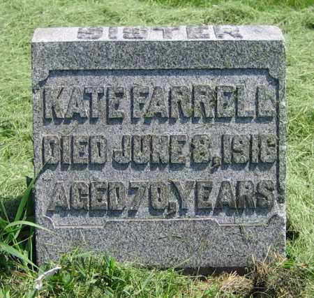 FARRELL, KATE - Clark County, Ohio | KATE FARRELL - Ohio Gravestone Photos