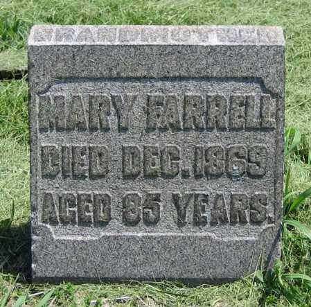 FARRELL, MARY - Clark County, Ohio | MARY FARRELL - Ohio Gravestone Photos