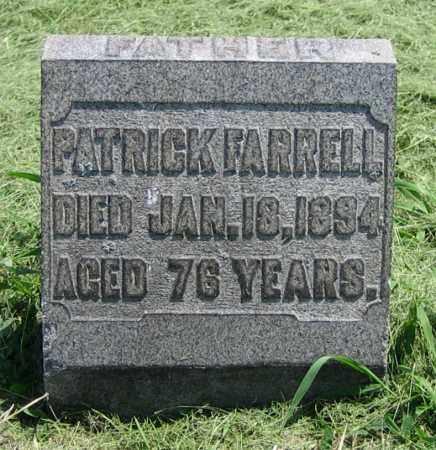 FARRELL, PATRICK - Clark County, Ohio | PATRICK FARRELL - Ohio Gravestone Photos