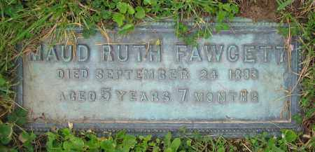 FAWCETT, MAUD RUTH - Clark County, Ohio | MAUD RUTH FAWCETT - Ohio Gravestone Photos