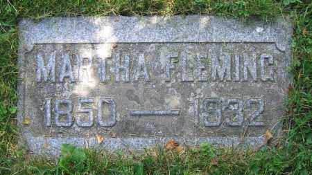 FLEMING, MARTHA - Clark County, Ohio | MARTHA FLEMING - Ohio Gravestone Photos