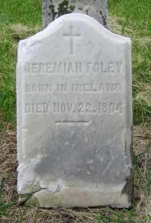 FOLEY, JEREMIAH - Clark County, Ohio | JEREMIAH FOLEY - Ohio Gravestone Photos
