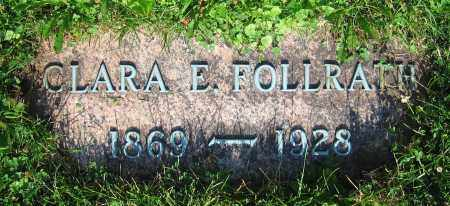 FOLLRATH, CLARA E. - Clark County, Ohio | CLARA E. FOLLRATH - Ohio Gravestone Photos