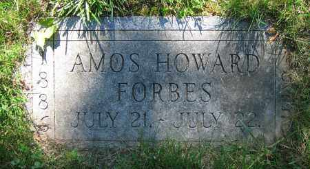 FORBES, AMOS HOWARD - Clark County, Ohio | AMOS HOWARD FORBES - Ohio Gravestone Photos