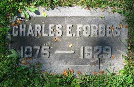 FORBES, CHARLES E. - Clark County, Ohio | CHARLES E. FORBES - Ohio Gravestone Photos