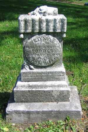 FORBES, EDNA - Clark County, Ohio | EDNA FORBES - Ohio Gravestone Photos