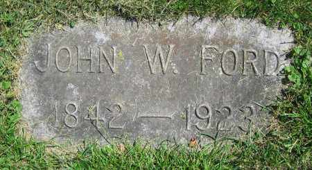 FORD, JOHN W. - Clark County, Ohio | JOHN W. FORD - Ohio Gravestone Photos