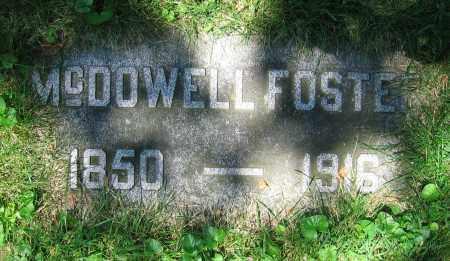 FOSTER, MCDOWELL - Clark County, Ohio | MCDOWELL FOSTER - Ohio Gravestone Photos