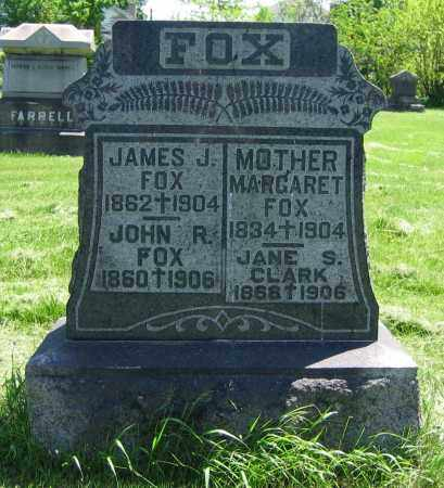 FOX CLARK, JANE S. - Clark County, Ohio | JANE S. FOX CLARK - Ohio Gravestone Photos