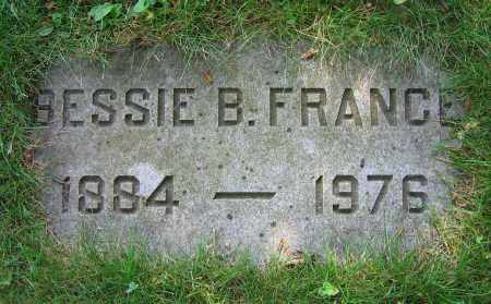 FRANCE, BESSIE B. - Clark County, Ohio | BESSIE B. FRANCE - Ohio Gravestone Photos