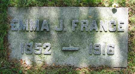 FRANCE, EMMA J. - Clark County, Ohio | EMMA J. FRANCE - Ohio Gravestone Photos