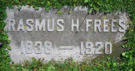 FREES, RASMUS H. - Clark County, Ohio | RASMUS H. FREES - Ohio Gravestone Photos