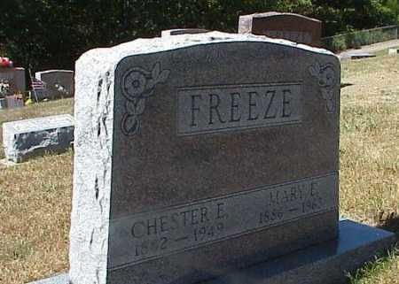 FREEZE, CHESTER ERIE - Clark County, Ohio | CHESTER ERIE FREEZE - Ohio Gravestone Photos