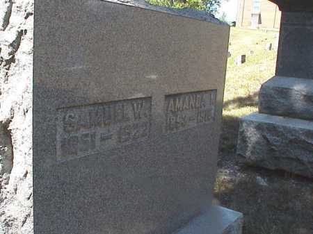 FREEZE, SAMUEL W - Clark County, Ohio | SAMUEL W FREEZE - Ohio Gravestone Photos