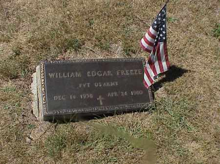 FREEZE, WILLIAM EDGAR - Clark County, Ohio | WILLIAM EDGAR FREEZE - Ohio Gravestone Photos