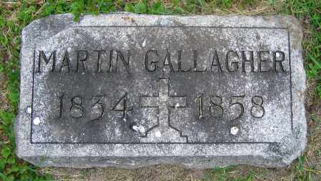 GALLAGHER, MARTIN - Clark County, Ohio | MARTIN GALLAGHER - Ohio Gravestone Photos